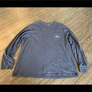 Vineyard Vines Graphic Pocket Long Sleeve Shirt